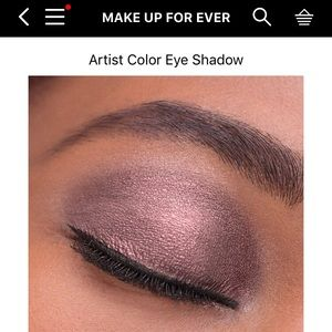 NWT Makeup Forever Artist Eyeshadow from Sephora